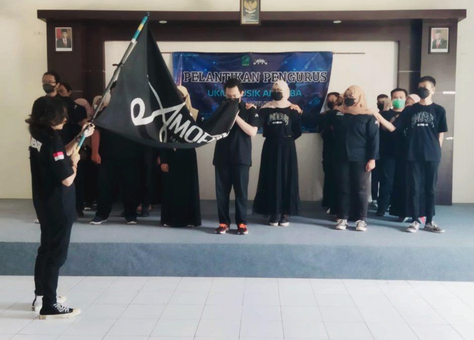 Burhan Pimpin UKM Musik Amoeba, Harapkan Semangat Bersinergi